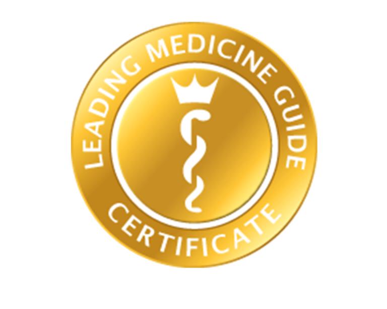 Leading Medicine Guide Certificate Logo