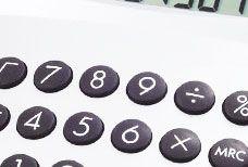 Ein Taschenrechner als Symbolbild für den CCI Rechner