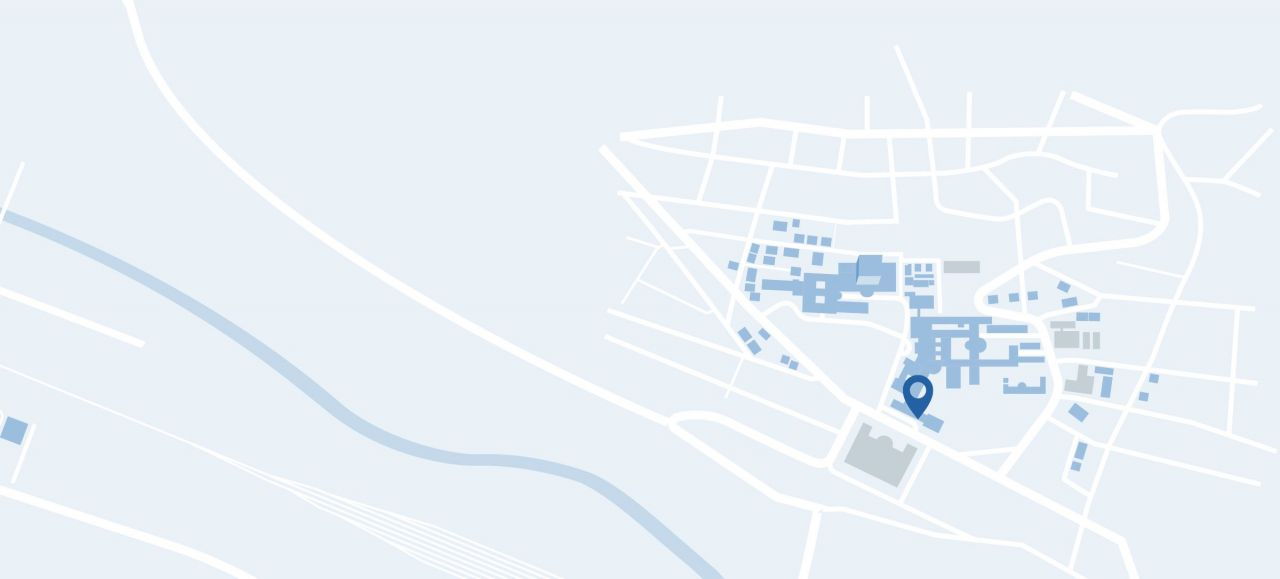 Karte Campus USZ