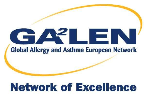 Logo Global Allergy and Asthma European Network