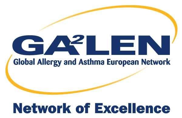 Logo Global Allergy and Asthma European Network