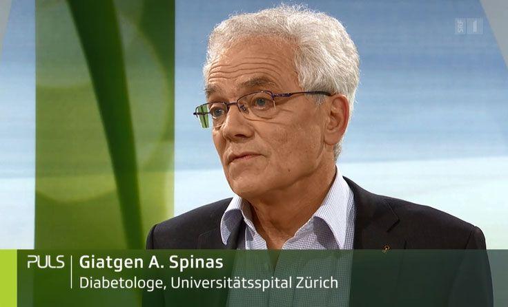 Video Platzhalter - SRF Puls zum Thema Diabetes mit Giatgen Spinas
