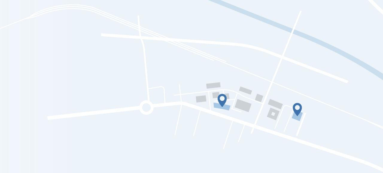 Karte von Schlieren
