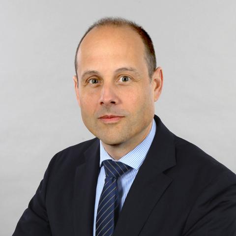 Porträt von Klinikdirektor Prof. Dr. med. Alexander Huber