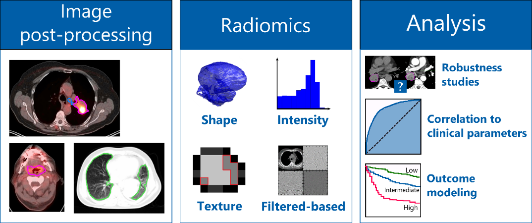 graphics of radiomic features