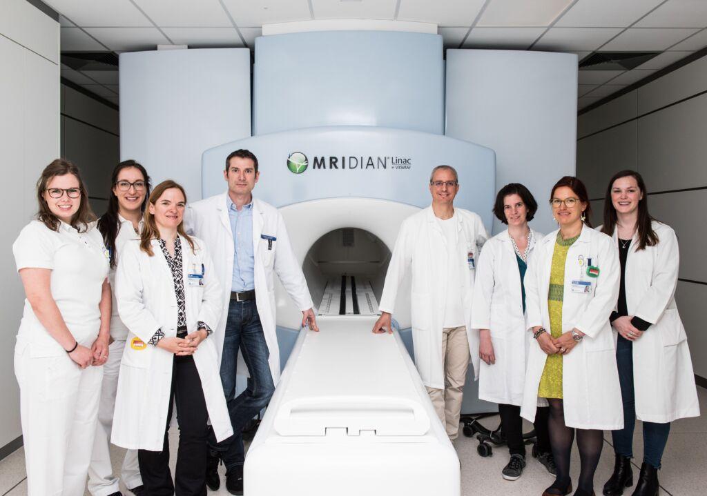 Das Team der Radio-Onkologie am MRI Linearbeschleuniger