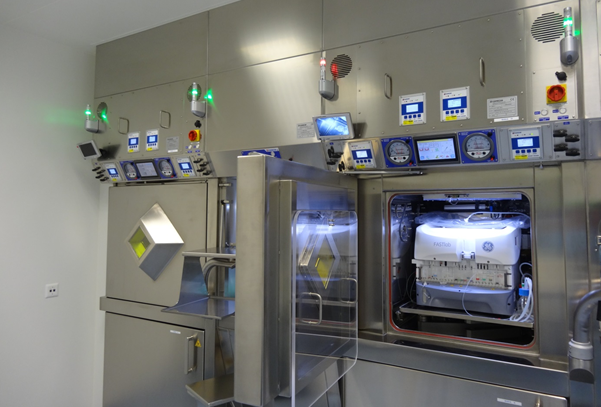 Produktionsstätte der Bleizellen