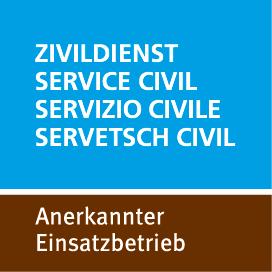Zivildienst anerkannter Einsatzbetrieb Logo