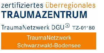 Zertifikationslogo TraumaNetzwerk