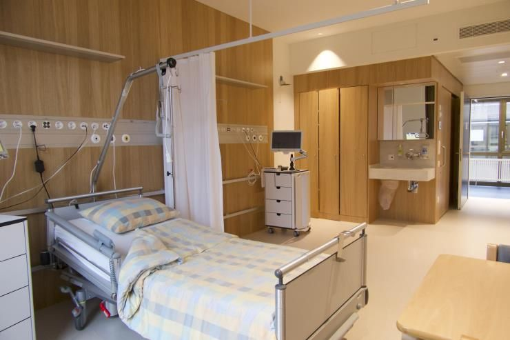 Patientenzimmer des USZ