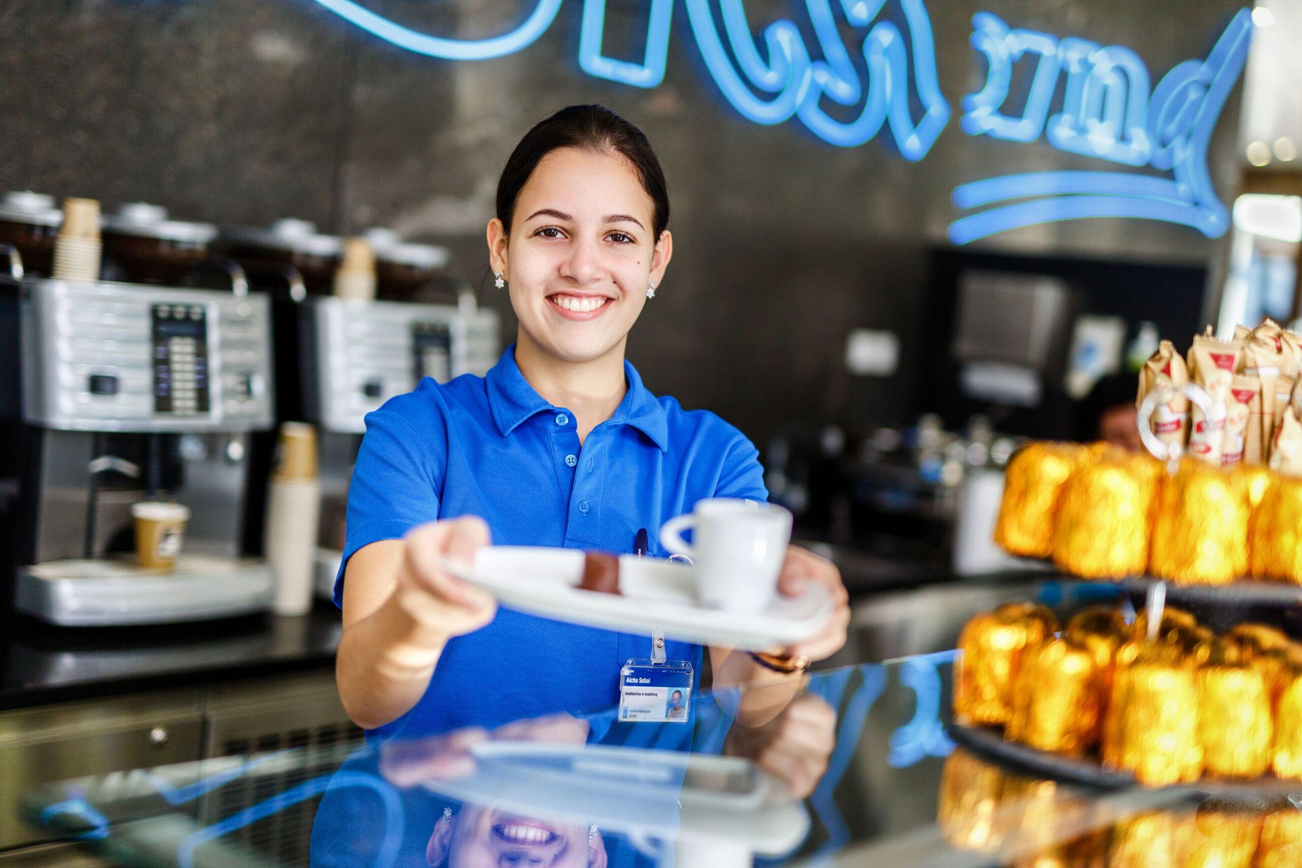 Hotelfachfrau EFZ in Ausbildung