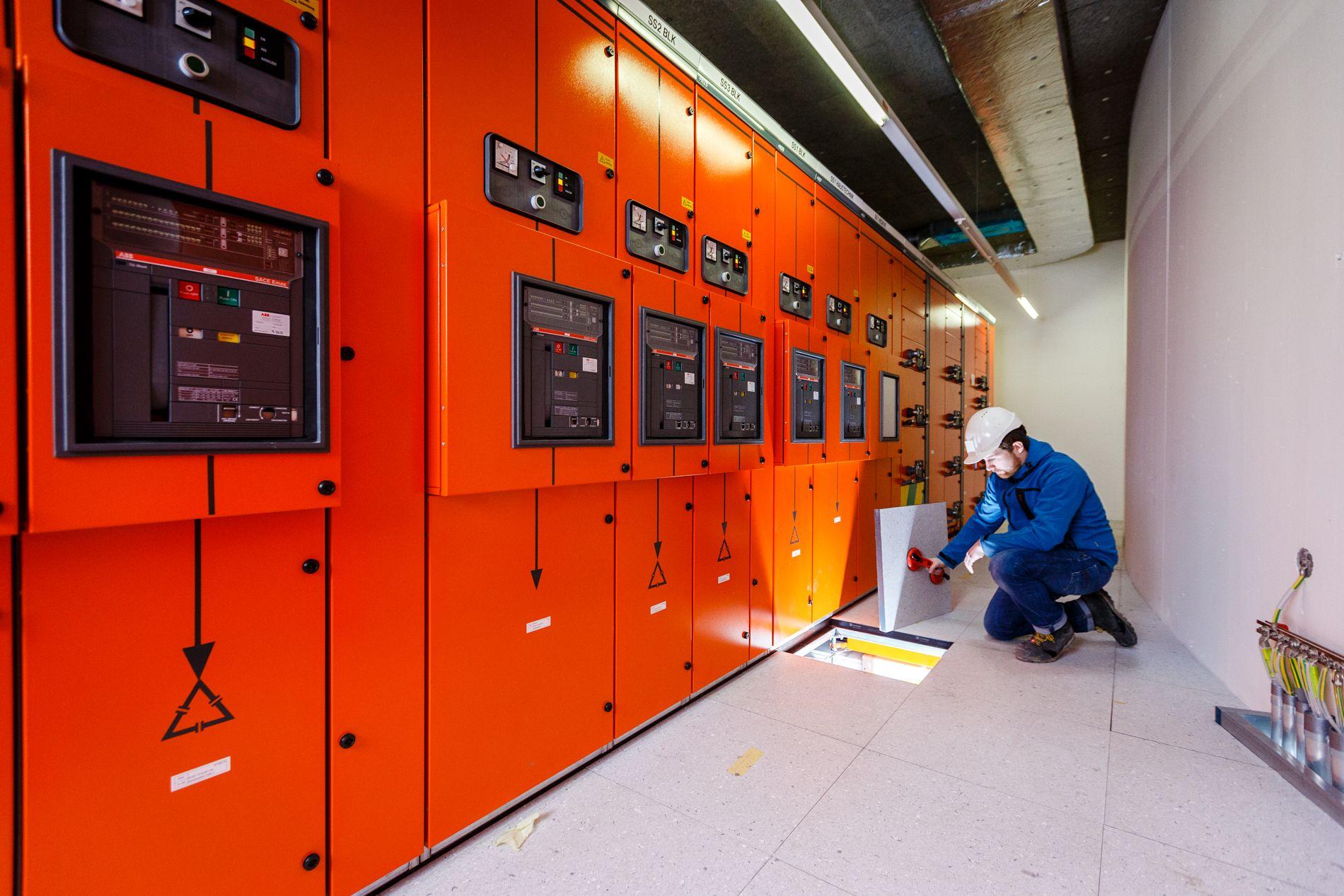 Elektro-Verteilstation am USZ
