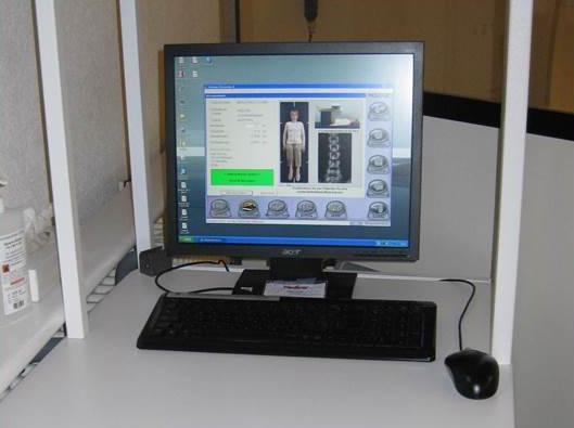 Analysegerät Knochendichtemessung