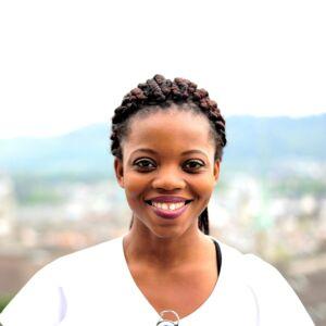 Portrait Brigitte Lalude Asante