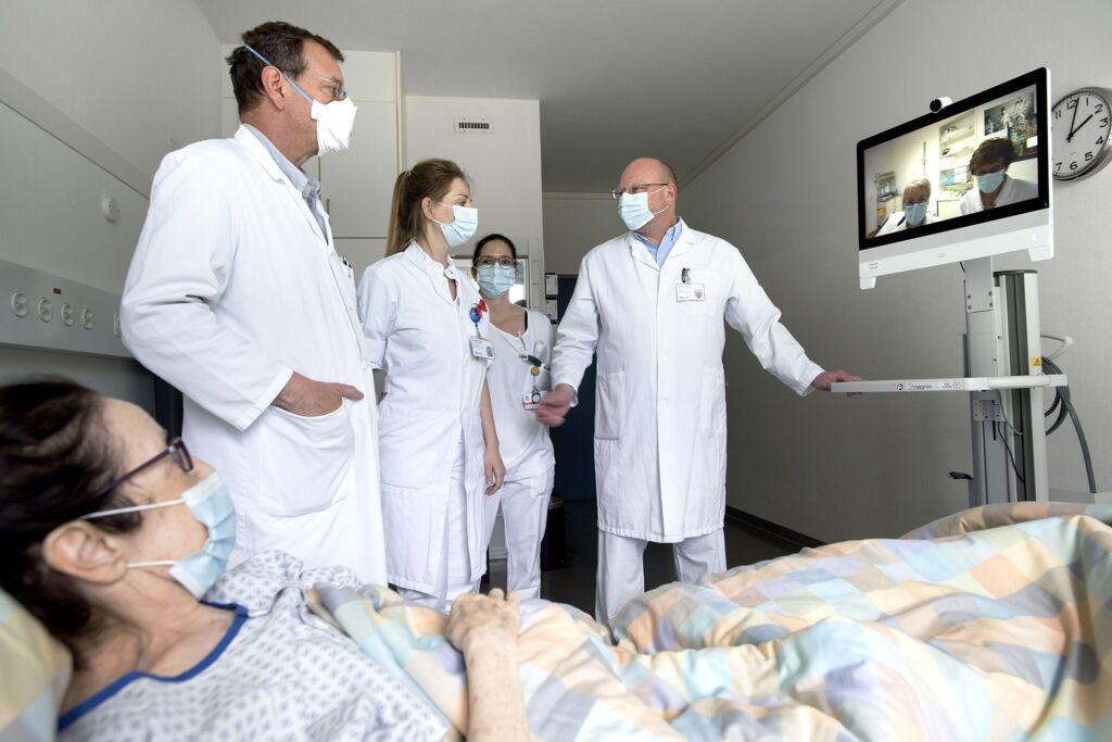 Televisite zwischen Klinik und Rehabilitationsklinik